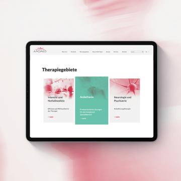 Amomed Website Relaunch