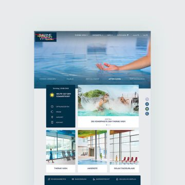 Therme Wien Website Relaunch