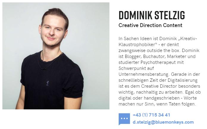 Dominik Stelzig Autor