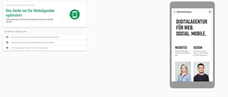 Google Mobile Friendly Test Seo Ergebnis Seo Fuer Kmu