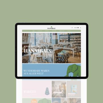 HANNIBALs | Website & Webshop