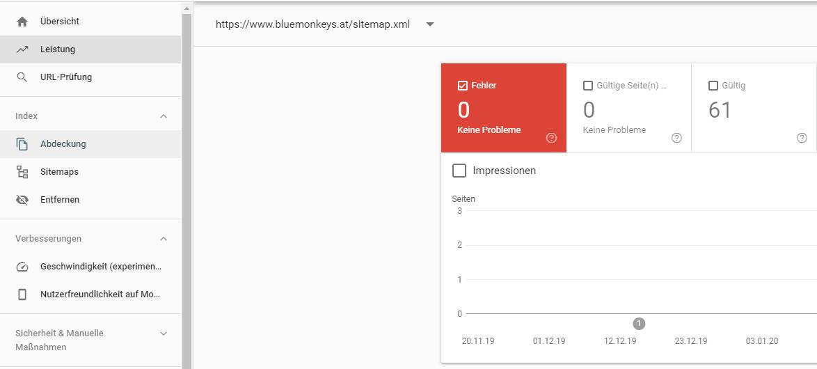 Index Abdeckung Search Console Seo Kmu